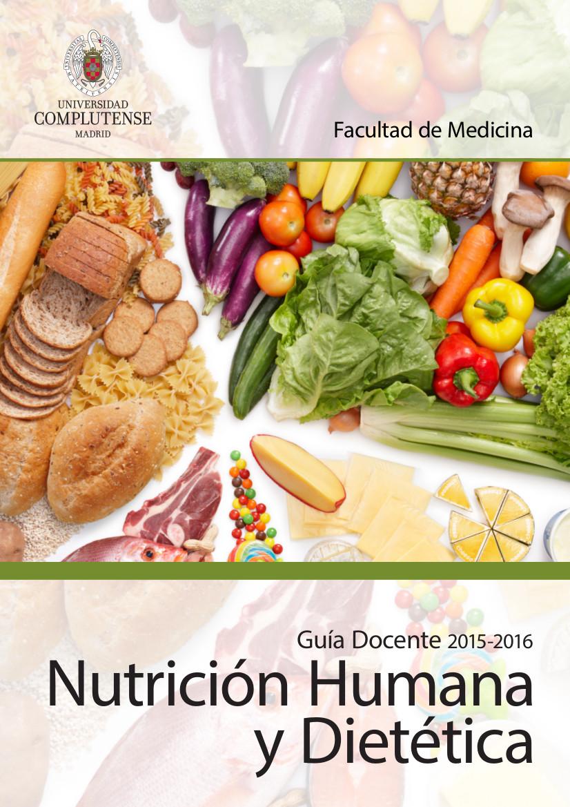 Guía docente Nutrición